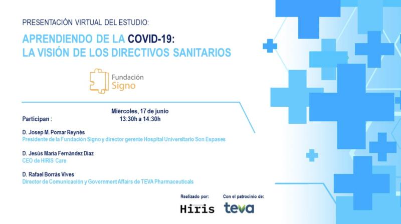 El 17 de junio presentaremos el Estudio «Aprendiendo de la COVID-19»