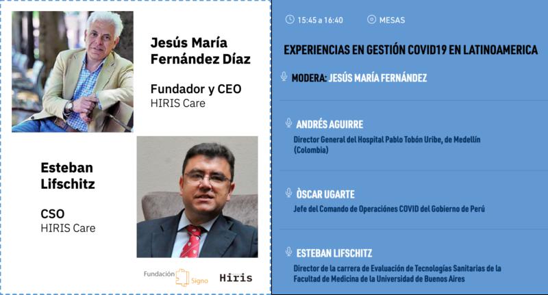 Hiris en las XV Jornadas de Evaluación y Gestión en Salud, organizadas por Fundación Signo y la Escuela de Salud Pública de Granada