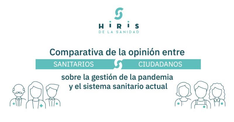 Los profesionales sanitarios encuestados por Hiris de la Sanidad muestran el camino a la ciudadanía