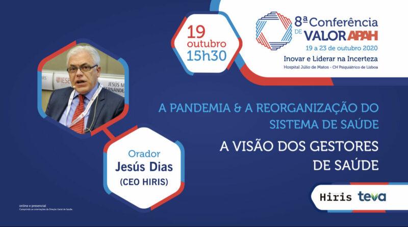 Jesús María Fernández en las Conferências de VALOR APAH